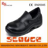 Sapatas de segurança de aço largas do tampão do dedo do pé com couro rachado Rh127