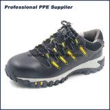 Обувь S1p безопасности неподдельной кожи типа спорта