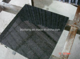 Granito nero G684 della Cina per le mattonelle Polished fiammeggiate