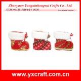 عيد ميلاد المسيح زخرفة ([ز15046-1-2]) عيد ميلاد المسيح الصين جزمة عيد ميلاد المسيح جواء لباد
