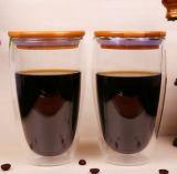 450 ml de caneca de suco de vidro de borosilicato Caneca de uísque Copo de suco de teacup
