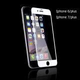 iPhone7/7plusのためのカーボンファイバーのフィルム3Dの緩和されたガラススクリーンの保護装置を反スクラッチしなさい