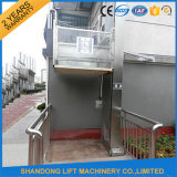 Ascenseur de fauteuil roulant vertical de plate-forme de vieil homme de fournisseur de la Chine