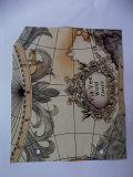 유행 인쇄를 가진 핸드백 가죽 (H200110)