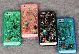 Caixa de telefone profissional fabricante Atacado Liquid Silicone de areia / TPU Case para iPhone 6 / 6s / Samsung A3 A5 J1 J7 S7 S7 Edge
