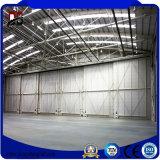 Hangares del aeroplano del acero estructural del bajo costo hechos en China