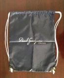 sacs de cordon de cadeau de promotion du polyester 210d avec des cordes de pp