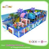 Многофункциональная крытая игрушка спортивной площадки, спортивная площадка предназначенных для многих игроков детей крытая