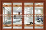 アルミニウム+Glassはハングを選抜し内部ドアを滑らせる