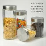유리제 저장 단지 유리 그릇 (FH005E)