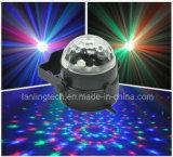 실내 LED 수정 구슬 디스코 당 빛