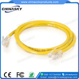 4p coloridos de cabo UTP Cat5e Cabo Ethernet de rede LAN (CAT5UE3B)