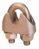 ワイヤーロープクリップ、カーボンまたは可鍛性鋼鉄