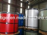 PPGI Prepainted гальванизированная стальная катушка (ранги цвета coated: SECD)