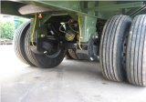 semi-remolque plano 3axles (neumáticos dobles) de los 20FT