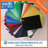 Het verschillende Blad van pvc van de Kleur Stijve Plastic voor Kantoorbehoeften