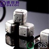وسكي أحجار - مجموعة من 4 مع بلاستيكيّة [ستورج بوإكس] ملط, وسكي يبرّد صخورة, [ستينلسّ ستيل] قابل للاستعمال تكرارا خمر [إيس كب]