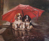 Peinture d'huile d'animaux (01)