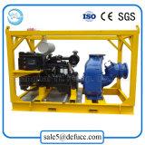 Bomba de aguas residuales del oscurecimiento del uno mismo del motor diesel de la buena calidad de 10 pulgadas