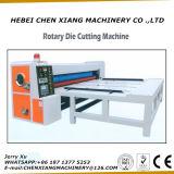 Máquina cortando giratória da alimentação da corrente Cx-1422