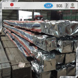 Leve laminadas en caliente de acero barra plana