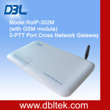 Intercomunicador/RoIP de VoIP com módulo RoIP302 da G/M