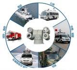 Multi-Riempire la videocamera di sicurezza del IP PTZ del veicolo chiaro HD