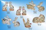 Met de hand geschilderd Porselein Animal