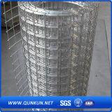 Treillis métallique soudé galvanisé utilisé pour la construction