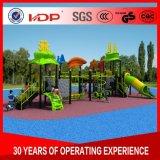 De rijke en Kleurrijke Apparatuur van de Speelplaats van Kinderen Openlucht voor Verkoop