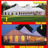150人のSeaterのゲストのイベントのためのアルミニウム最も高いピークの混合された玄関ひさしのテント