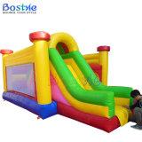 Castillo de salto inflable, diapositiva inflable de la gorila combinada