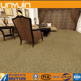 Azulejo de suelo comercial del vinilo de la superficie de la alfombra