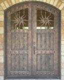 Griglia dei portelli del garage del ferro della presa di fabbrica e di portelli dell'entrata del ferro