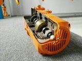 電気トロリーが付いている15ton日本のタイプ電気チェーン起重機