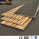 Carrelage imperméable à l'eau de vinyle de plancher de 100% WPC