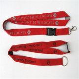 Школа Полиэстер серого цвета печатаются трубчатые строп предохранительного пояса команды Великобритании полиэстер Custom