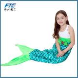 L'acrilico popolare ricopre la coperta della coda della sirena per il capretto