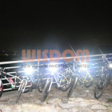 Светильник крышки шлема СИД рыболовства, фара Bike с 20000 люксами