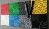 De goedkope Plastic Openlucht Antislip Met elkaar verbindende Vrije Tegels 400*400*18 van de Vloer van de Garage van de Stroom