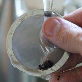 Многократного использования из нержавеющей стали двойной слой сетчатый фильтр кофе с подставкой