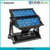 180X5w Rgbaw im Freien LED Wand-Unterlegscheibe des doppelten Hauptfußboden-
