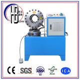 Marcação&Certificado ISO e tempo de entrega rápida conexão da mangueira de estilo Techmalflex Virola Máquina de crimpagem