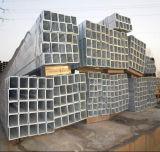 Tubo de acero de los materiales de construcción/tubo cuadrados estructurales galvanizados Q235