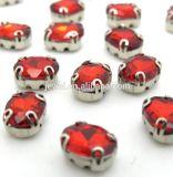 Commerce de gros matériel Bijoux Perles de cristal strass de forme octogonale avec griffe