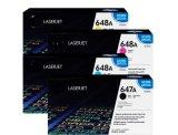 100% HP 고유 인쇄 기계를 위한 진짜 색깔 토너 카트리지 Cc530A 260A 210A 400A 250A 380A