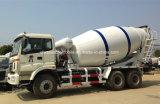 8 M3 구체적인 납품 트럭에 Foton 6X4 시멘트 믹서 트럭 5