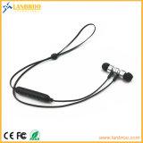 Fone de ouvido sem fio de venda quente magnético de Bluetooth Earbuds Lanbroo Bluetooth