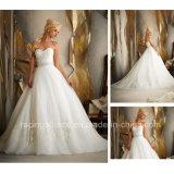 Empire Sweep Train Princesse Embroidaire Robe de mariée Robe de mariée en tulle