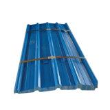 En métal ondulé galvanisé prélaqué coloré tôle de toit pour la feuille de toit